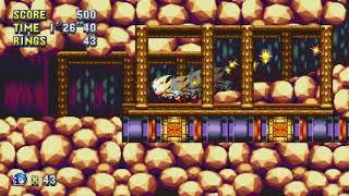 Sonic Mania: Lava Reef Zone Act 1 (Super Sonic) [1080 HD]