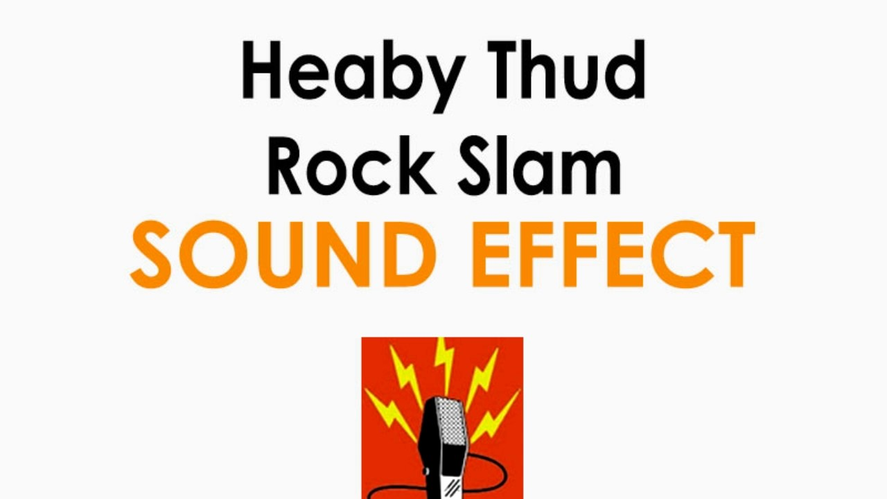 Heavy Rock Thud Or Huge Door Slam Sound Effect ♪