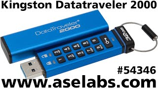 Kingston DataTraveler 2000 Review - ASE Labs