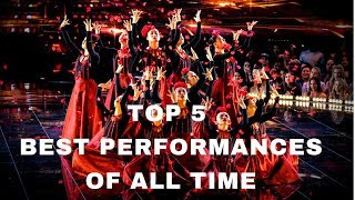 TOP 5 WORLD OF DANCE PERFORMANCES OF ALL TIME | WOD |