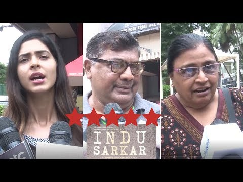 First Day First Show Full Public Review Of Film Indu Sarkar