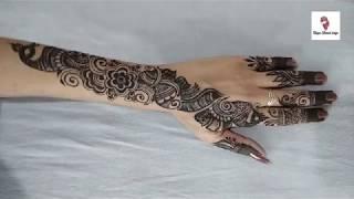 Arabic mehndi Design ! Designer Arabic Mehendi Design ! Jwellary Arabic Mehndi Designs  !