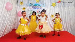 Annual Day 2017  Teddy Bear Girls Group Dance  Wonder Stars