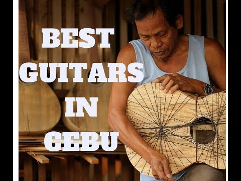 Vlog #02 | BEST GUITARS IN CEBU!! Ferangeli Guitar Handcrafter