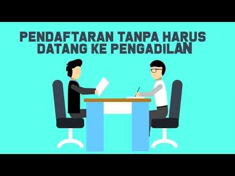 e-Court PENDAFTARAN PERKARA TANPA HARUS DATANG KE PENGADILAN Mp3