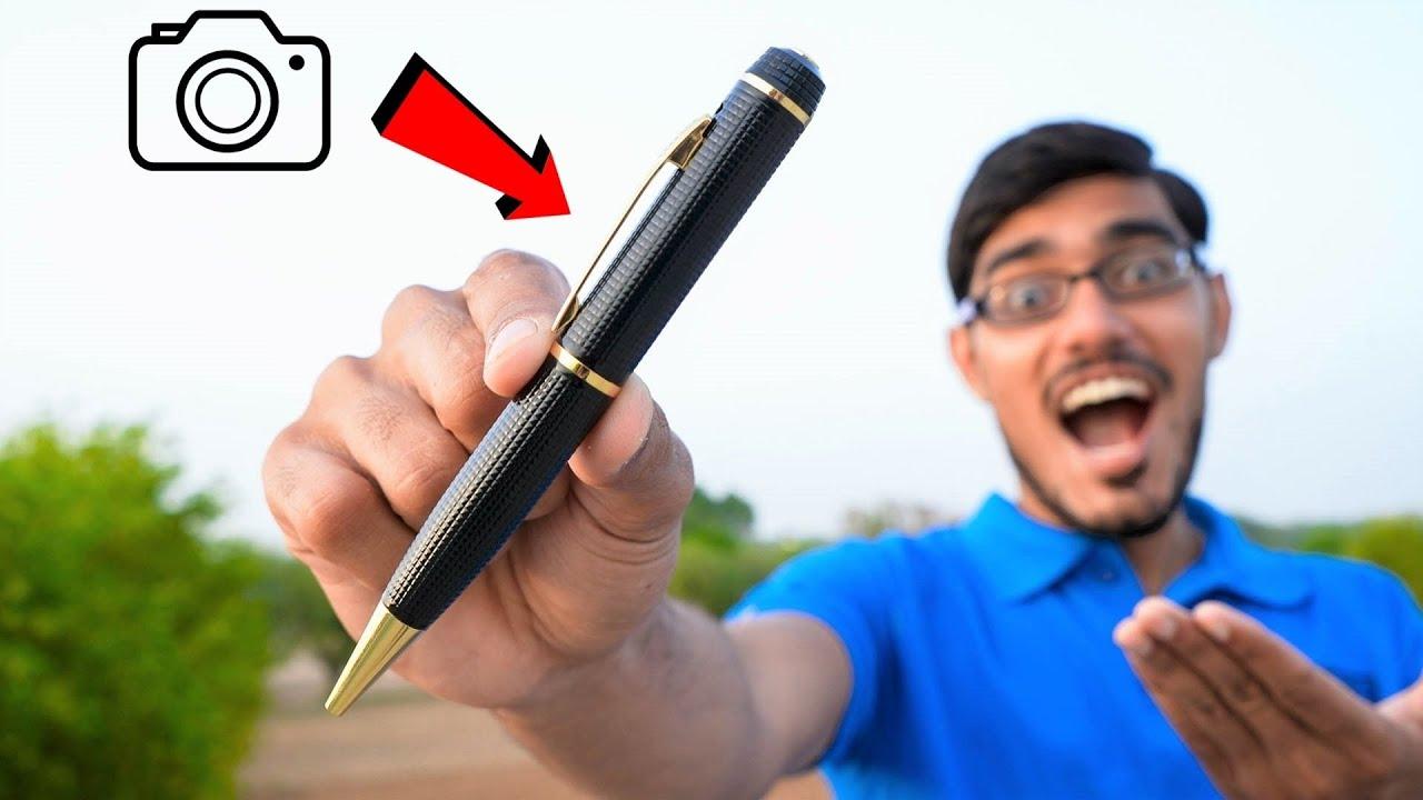 This is a Camera, Not a Pen | ये कोई पेन नहीं बल्कि कैमरा है | Unboxing & Testing