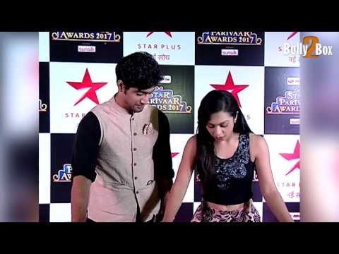 Abigail Jain and Sanam Johar At Star Parivaar Awards 2017