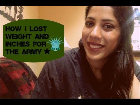 How I Lost Weight And Inches For MEPs (Army Active)