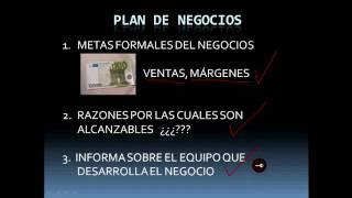 Qué es un Plan de Negocios (Business Plan)