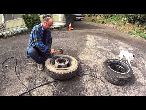 02 Chevy Express 3500 dually rear wheel and drum removal ...