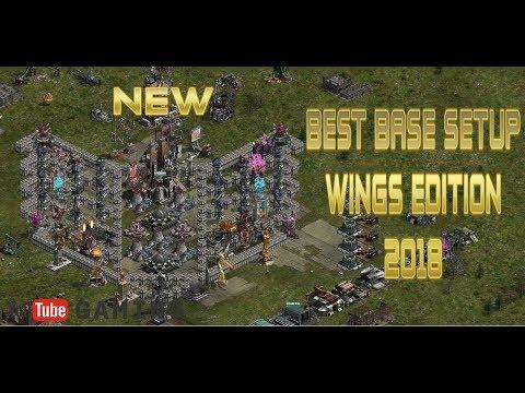 BEST BASE SETUP - WINGS EDITION 2018 - WAR COMMANDER