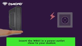 Dymond WR03 installation assistant - Installation WITH & WITHOUT WPS