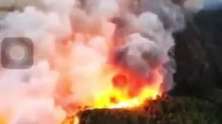 Göcek'te Büyük Orman Yangını