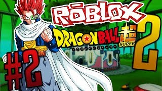 BECOMING A TIME PATROLLER | Roblox | Dragon Ball Super 2 | Episode 2