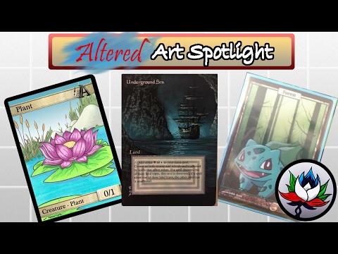 MTG – Altered Art: Pokemon, Voltron, Batman, AMAZING Custom Tokens, and more!