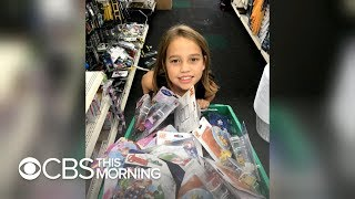 8-year-old collects night-lights for kids in foster care