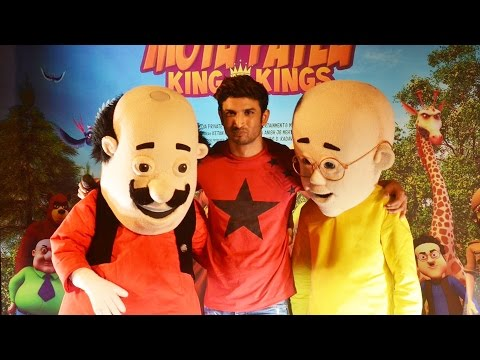 Motu Patlu: King Of Kings 3D Trailer Launch | Sushant Singh Rajput thumbnail