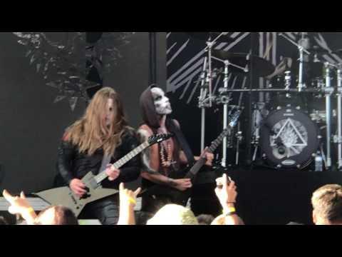 Behemoth live in St Augustine , Fl 7-21-2017