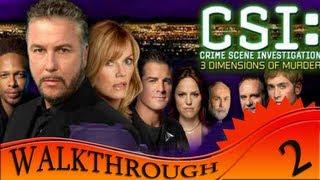 CSI 3 Dimensions Of Murders - Walkthrough #2 | Case Two