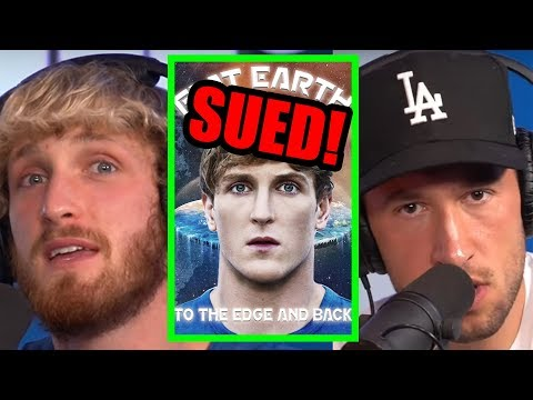 LOGAN PAUL AND MIKE ARE BEING SUED FOR THE FLAT EARTH DOCUMENTARY?! thumbnail