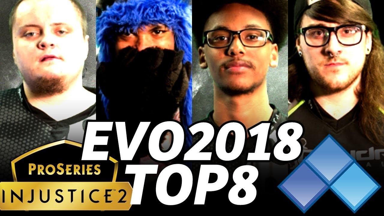 Evo 2018 Injustice2 Top8 Timestamp Sonicfox Rewind Tweedy Bigd