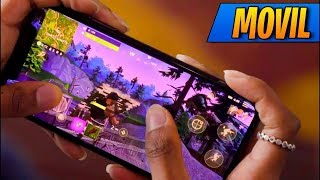 fortnite mobile gameplay