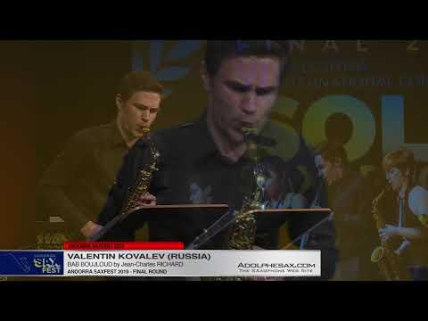 Andorra SaxFest 2019  - Valentin KOVALEV  - Bab Boujloud By Jean Charles RICHARD