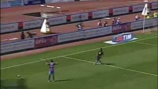 Il gol di Falconieri al Napoli