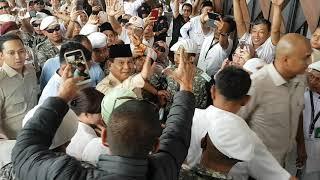 Prabowo diteriaki Presiden di Banten