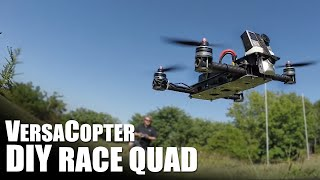 diy race quadcopter ft versacopter   flite test
