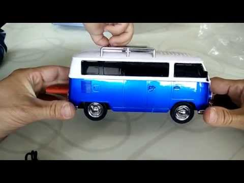Mein VW Bus Radio MP3 Player WS-266 Car Speaker unboxing