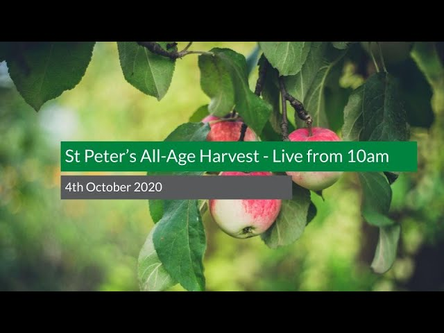 St Peter's All-Age Harvest Festival