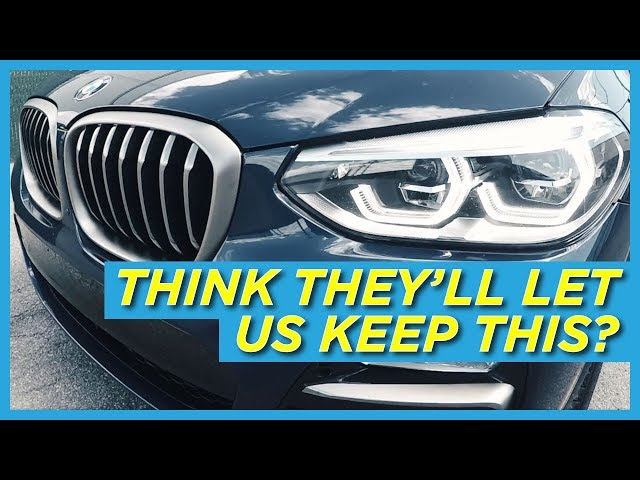 BMW X3 M40i Technology Review