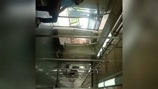 Delhi metro// Dwarka to Noida//khali padi metro train