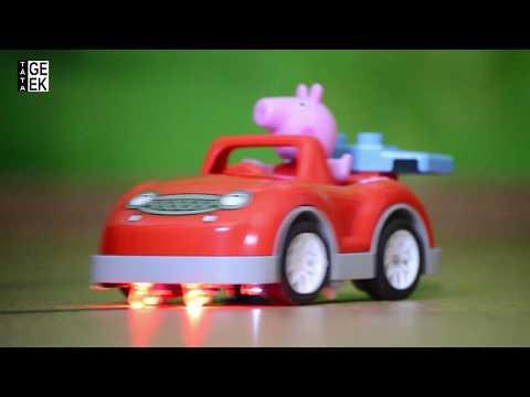 Sledovací autíčko / Tracking robot car - LEGO DUPLO