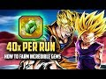 How To Farm Incredible Gems Fast Method DBZ Dokkan Battle