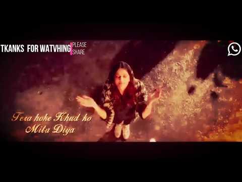 Neha Kakkar: Halka Halka Unplugged With Lyrics   FANNEY KHAN  New Watsapp Status