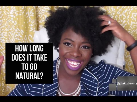 How long does it take to go natural jenell stewart youtube