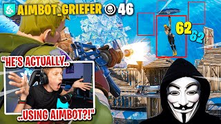 I caught a HACKER using AIMBOT in my custom scrims in Fortnite... (I confronted him)