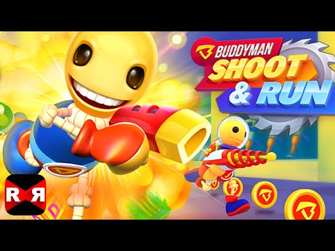 Buddyman: Shoot And Run (By DreamSky) - iOS / Android - Gameplay Video