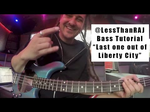 "Less Than Jake - Roger Lima - Bass Tutorial Vid 1 - ""Last One Out Of Liberty City"""
