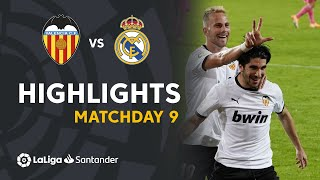 Highlights Valencia CF vs Real Madrid (4-1)