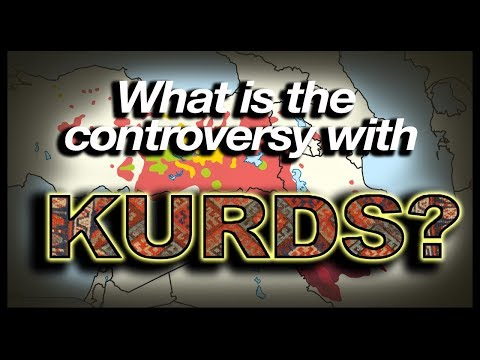 What is the controversy with Kurds? (Geography Now!)