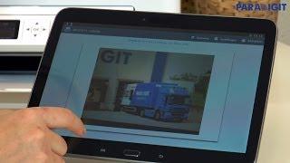 Draadloos printen met uw Android tablet. - Paradigit