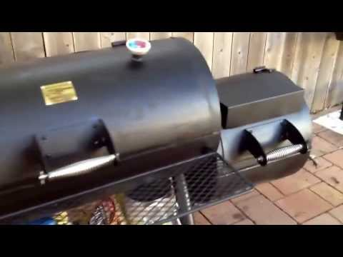 Oklahoma joe s highland smoker build and mods part 11 5 doovi