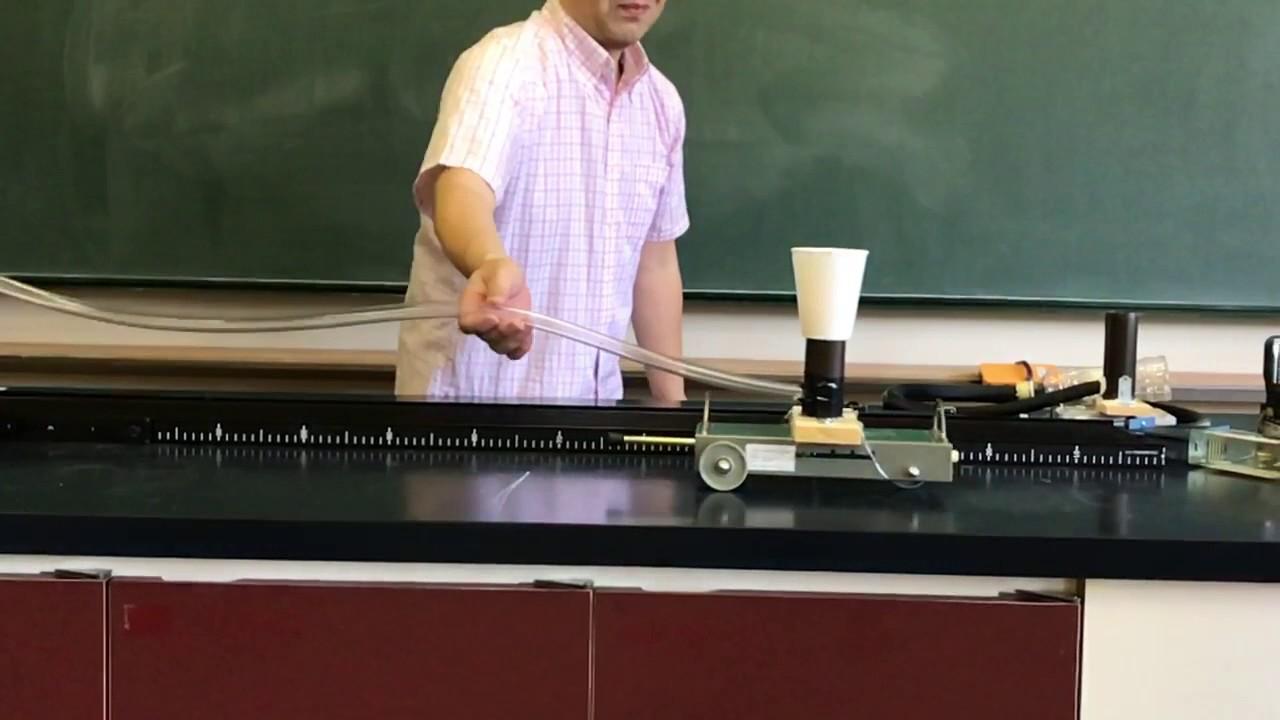 慣性の法則実験 - YouTube