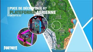 Decryption chip 67 I FIXER THE BUG I Cross the Rings I Fortbyte 67 I FORTNITE