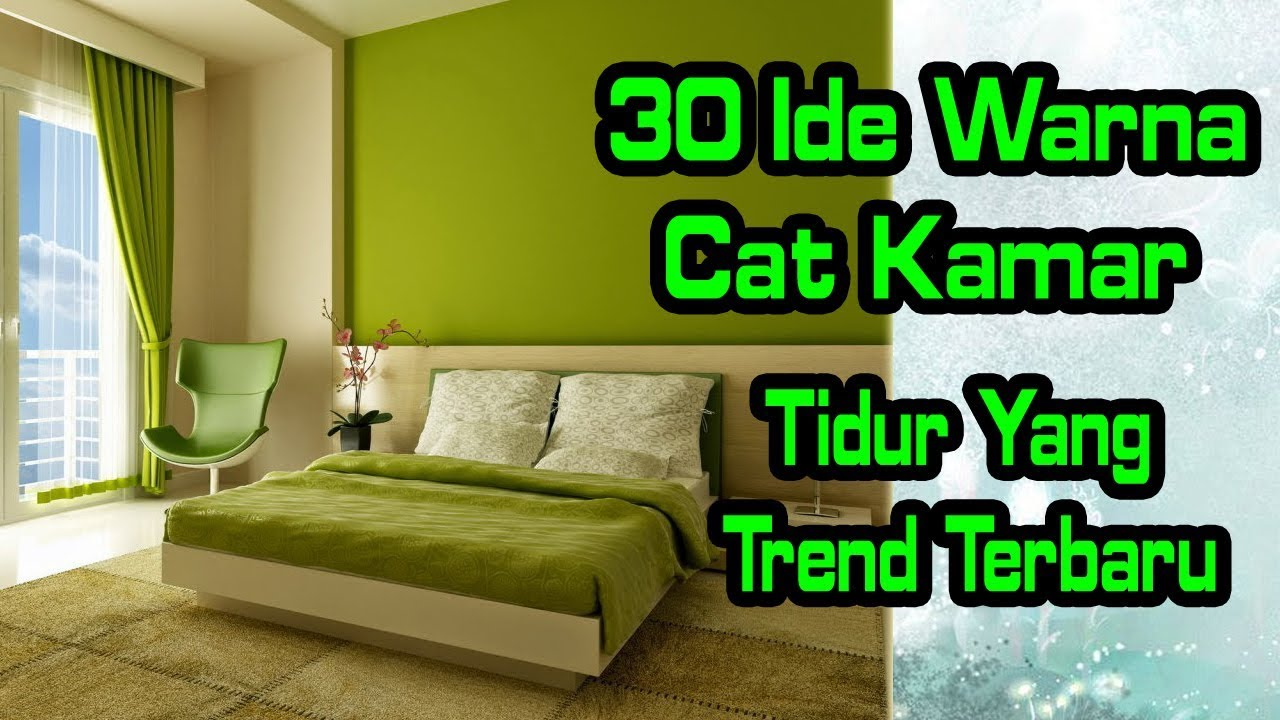 Disain Cat Kamar 30 Idea Cat Color Bed Room The Latest Trend