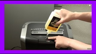 How To Oil Fellowes Shredders