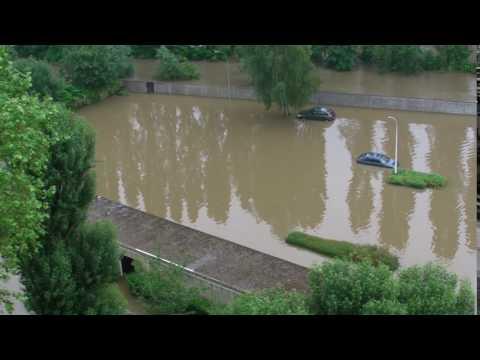inondation 2016 les rossays savigny sur orge youtube. Black Bedroom Furniture Sets. Home Design Ideas